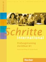 Schritte international. Prüfungstraining Zertifikat B1